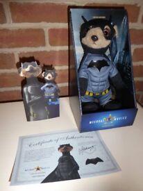 Batman Meerkat (Compare The Meerkat) BNIB with certificate