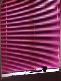 Pink blind