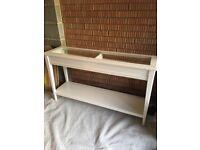 IKEA WHITE CONSOLE TABLE