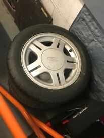 Ford Fiesta rs2000 alloy wheels