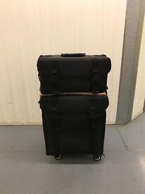 Ex Display PRO MakeUp Artist Trolley Case, Nylon, 2-IN-1, Black £80!