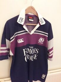 Superb retro Canterbury Scotland rugby shirts (3 of them) £30 each