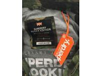 Superdry camo jacket new