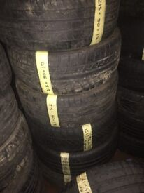 215/50/17 large selection of tyres