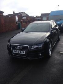 Audi avant 170 s line. Black 59 plate.
