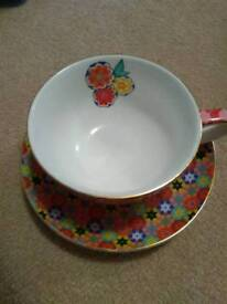 T2 Teacup and saucer