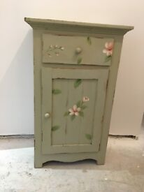 Pot Cupboard - prettily painted, vintage, shabby chic style