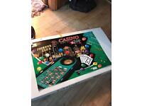 Large casino roulette set