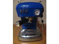 Ascaso Dream Versatile Coffee Machine Blue New in box