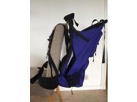 Bush Baby rucksack carrier with rain/sun cover