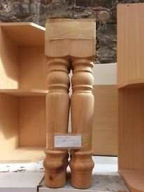 Wood Turnings - Solid Wood Table / Chair Legs