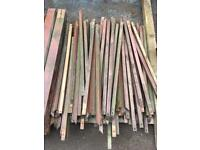 Decking spindles/hand rail/posts