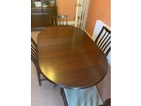Stagg Table and chaird