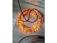 Rope lights outdoor/indoor 6 & 8 metres available