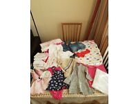 0 - 6 months baby girl clothes joblot/batch in good condition