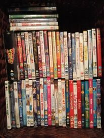 80+ DVDs Mostly Kids Movies £30 ONO + 2 pairs of size four shoes £10 Each