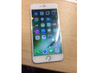 BRAND NEW CONDITION iPHONE 6 PLUS 64GB UNLOCKED ANY NETWORK GOLD WITH BRAND NEW ACCESSORIES