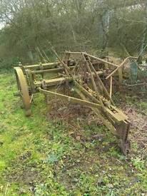 Vintage cultivator