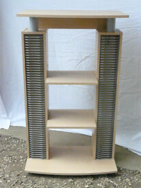 REDUCED!! DVD/CD Storage with space for Stereo / Hi-Fi unit