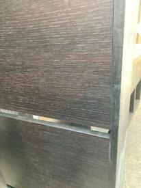 IKEA Bissa Shoe Cabinet Black Brown
