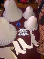 Decorations for Showers or Weddings etc