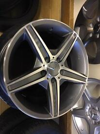Merc rep alloy wheel