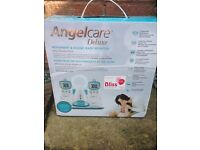 angel care deluxe, movement and sound baby monitor, dual monitor pack