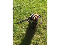 STIHL chainsaw 017 with accessories