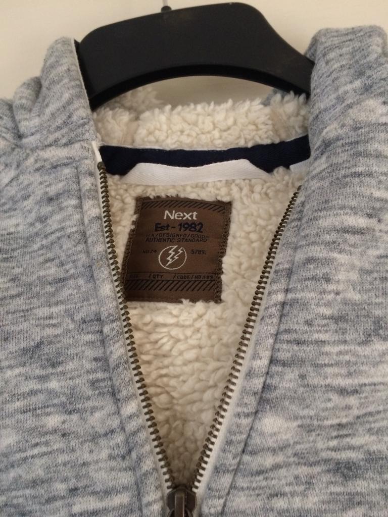 Boys grey jacket