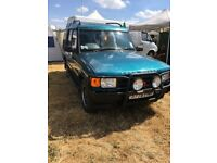 Landrover Discovery GS colbolt blue