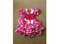 Disney Store Minnie Mouse Costume Dress for Kids (5-6 years) RRP £30
