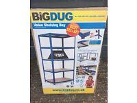 Big Dug Boltless Shelving Unit 1780H x 900W x 600D
