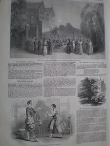 Shakespeare-play-King-John-Sadlers-Wells-Theatre-London-1849-old-print-my-ref-T