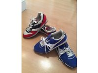 Mens retro trainers