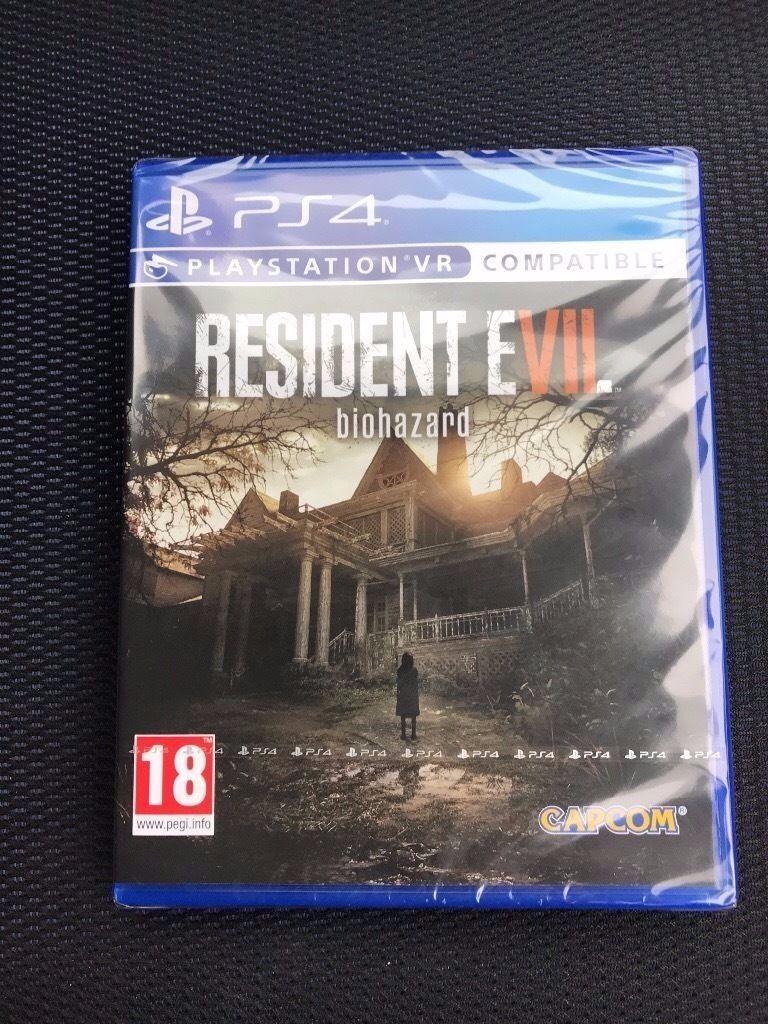 Resident evil 7 (New) (Ps4)