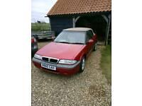 Rover cabriolet 216gti