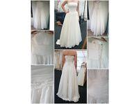 ANNA SORRANO - Ladies Strapless Embellished Corset Wedding Dress Size 10 BNWOT