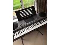 Casio Electronic Keyboard CTK-671 in good condition with manual