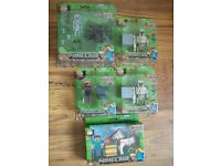 5 x series 2 Minecraft figures. All BNIB.