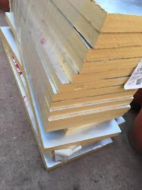50mm Celotex insulation sheets 450x1200