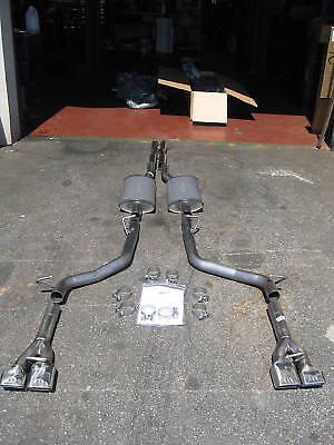 09-14 Dodge Challenger 5.7L Cat Back Dual Exhaust System Mopar Performance OEM  Mopar Cat Back Exhaust