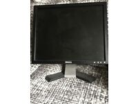 17inch Dell monitor E177FPc with stand (no cables)