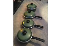 Vintage Club Cast Aluminium Pan Set