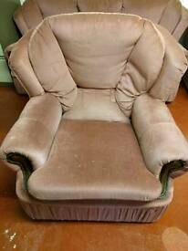 3 seater and 2 single seats free collection only