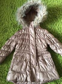 Girls Next Winter Coat 3-4yrs