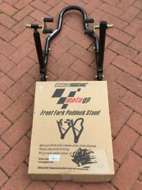 Moto GP Front Paddock Stand - Hardly used.