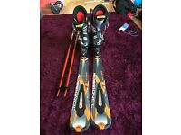 Rossignol Ski's, Salomon Boots and Scott Poles