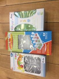Weaning food trays/lollipop moulds - 4 boxes!