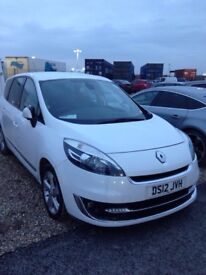 Renault Grand Scenic 7 seaters with new tyres and cambelt