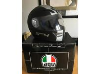 AGV S4 XL motorcycle helmet + new spare visor